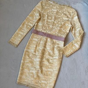 Dresses & Skirts - Champagne lace dress